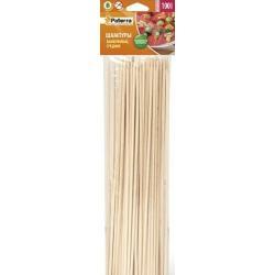 Шампуры для шашлыка Paterra, бамбук, 100 штук, 40 см