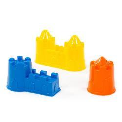 Формочки (замок башня + замок стена с двумя башнями + замок мост)