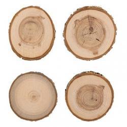 Срез дерева Blumentag, 4 штуки, арт. СРЕЗ-01