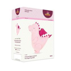 Набор для изготовления игрушки Miadolla Сплюшка Дракон розовый, 33 см, арт. PT-0296
