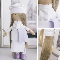 Набор для шитья Арт Узор Интерьерная кукла. Повар Селена (арт. 5470961)