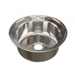 Мойка врезная круглая Mixline, диаметр 51 см, арт. 528185