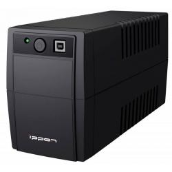 Источник бесперебойного питания Ippon Back Basic 650, черный