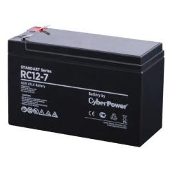 Аккумуляторная батарея CyberPower Standart series RC 12-7