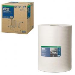 Протирочный нетканый материал Tork Premium, 400 листов в рулоне, 32х38 см