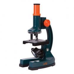 Микроскоп монокулярный, детский Levenhuk LabZZ M2, 100-900 крат, 3 объектива