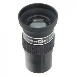Окуляр для телескопа Veber 20mm SWA ERFLE 1.25