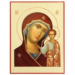 Икона Божия Матерь. Казанская, 95x140 мм