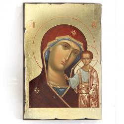 Икона Божия Матерь. Казанская, 140x190x25 см