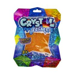 Игрушка Crystal slime, апельсиновый, (90 грамм)