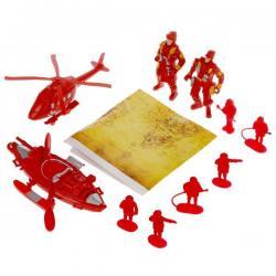 Набор пожарных с инструментами Пожарная служба