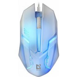 Мышь проводная оптическая Defender Сyber MB-560L, USB, 3 кнопки, белая