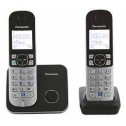 Радиотелефон Dect Panasonic KX-TG6812RU (черный)