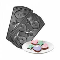 Панель для мультипекаря Redmond RAMB-24 (Сердечки и звёздочки) (количество товаров в комплекте 2)