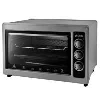 Электрическая духовка D-0123 Delta с термостатом, 1300 Вт, цвет серый