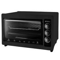 Электрическая духовка D-0123 Delta с термостатом, 1300 Вт, цвет черный