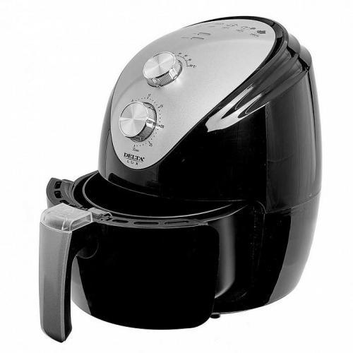 Мультипечь Delta Lux, 1500 Вт, 2,5 л, цвет черный, артикул DE-6101