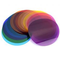 Набор цветных светофильтров для круглой головки Godox V-11C