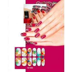 Арт-плёнка Bradex Акварель, для дизайна ногтей