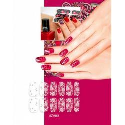 Арт-плёнка Bradex Изморозь, для дизайна ногтей
