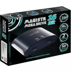Игровая приставка Magistr Mega Drive 16Bit, 250 игр