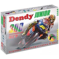 Игровая приставка Dendy Junior, 300 игр + световой пистолет