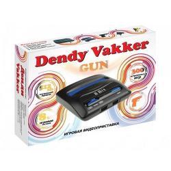 Игровая приставка Dendy Vakker, 300 игр + световой пистолет