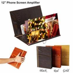 Увеличитель экрана для телефона и планшета, цвет черный