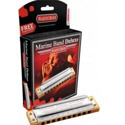 Губная гармоника диатоническая Hohner Marine Band Deluxe 2005/20 Ab (M200509X)