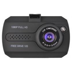 Видеорегистратор Digma FreeDrive 105, черный, 1080p