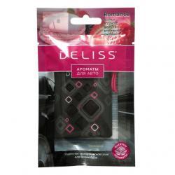 Подвесное ароматическое саше для автомобиля Deliss Romance