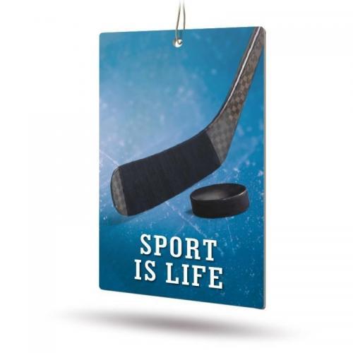 Ароматизатор бумажный Sport is Life (океан)