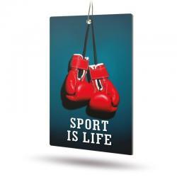 Ароматизатор бумажный Sport is Life (Огненный лёд)