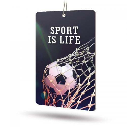 Ароматизатор бумажный Sport is Life (Лидер)