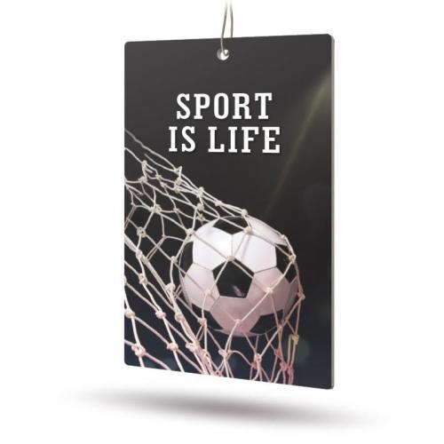 Ароматизатор бумажный Sport is Life (Цитрус)