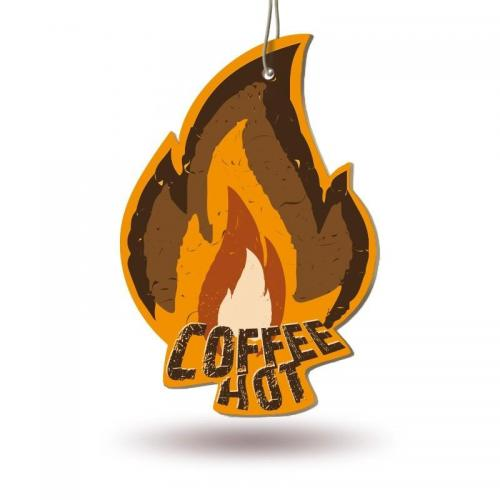 Ароматизатор бумажный Fire Fresh (кофе)