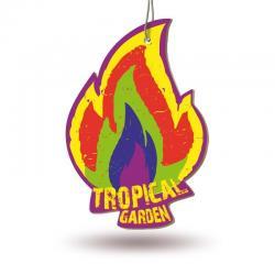 Ароматизатор бумажный Fire Fresh (тропический сад)