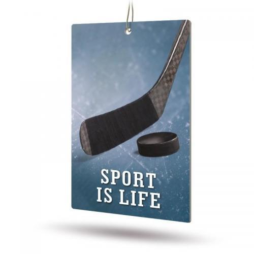 Ароматизатор бумажный Sport is Life (Перец)