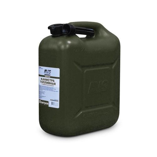 Канистра топливная AVS TPK-Z 20, цвет темно-зеленый, 20 л