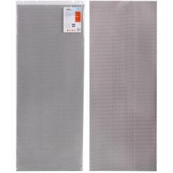 Сетка для защиты радиатора Airline, алюминий, ячейка 10x4 мм (R10), 100x40 см, черная (1 штука)