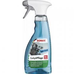 Очиститель для пластика триггер Sonax. Матовый эффект. Спорт. Активная свежесть, 0,5 литра