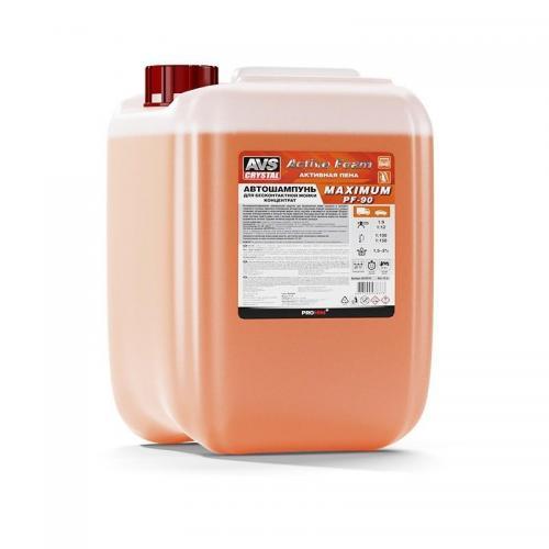 Автошампунь для бесконтактной мойки AVS Active Foam. Maximum, 24 кг