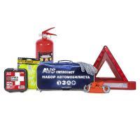 Набор автомобилиста AVS AN-02B, 7 предметов (синяя сумка)