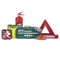 Набор автомобилиста AVS AN-02G, 7 предметов (зеленая сумка)