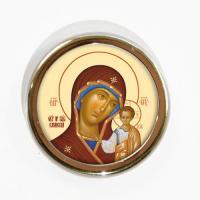 Икона для авто Божиея Матерь. Казанская, 40 мм