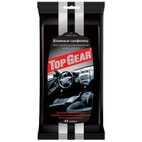 Салфетки влажные для салона автомобиля Top Gear, 30 штук