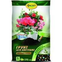 Грунт Цветочное счастье для цветущих растений, 5 л