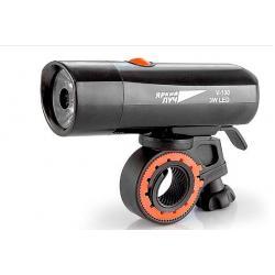 Фонарь велосипедный Яркий луч, LED 3 W, 3 режима, 4xAAA