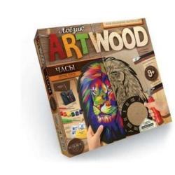 Набор креативного творчества Artwood. Настенные часы. Лев