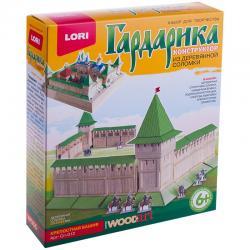 Конструктор из деревянной соломки Крепостная башня